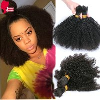 others ali express - A Mongolian Afro Kinky Curly Bulk Hair For Braiding Pc Human Braiding Hair Bulk Ali express Braiding Hair Rosa Hair Products