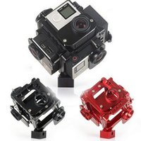 Wholesale new Degree VR Full frame shoot FPV Panoramic Imaging Video Recorder gopro camera holder caga for go pro