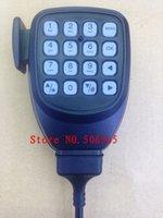 Wholesale hones Telecommunications Walkie Talkie KMC handfree Speaker Microphone with keyboards for kenwood car radio TM281 TM481 TM471 TM271 TK