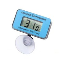 Wholesale Digital Submersible Fish Tank Aquarium LCD Thermometer Measure Temperature
