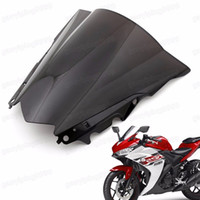 Wholesale New Motorcycle Double Bubble Windscreen Fairing Windshield Lens ABS for Yamaha YZF R25 YZF R3