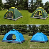 Wholesale Best Oxford Cloth Backpacking Tents Quick Automatic Opening Portable Outdoor Double Doors Camping Tents Shelters for Hiking Fishing