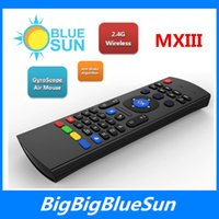 air internet - latest internet tv control Wireless Air Mouse for Android TV Box MX3 wireless keyboard air fly mouse for smart tv