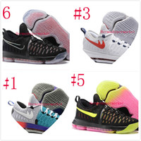 basket weave leather shoes - 2016 New Arrival Kevin KD Mens Basketball Shoes KD9 Warriors Color Weaving Durant Men s Sports Sneakers US Size