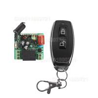 Wholesale 220V CHRF Wireless Remote Control Light Switch Interruptor A Light Lamp LED SMD Transmitter Lock Unlock