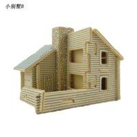 Wholesale Educational Toys D Wooden DIY Scale Models Small Villa
