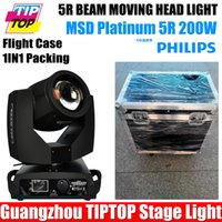 Wholesale TIPTOP China in1 Flight Case Packing Disco Club R Moving Head Spot Light TP Sharpy Beam Moving Head W Black House Phase Motor