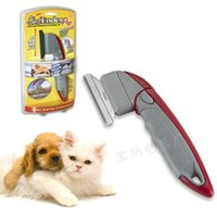 Wholesale Shed Ender Professional De shedding Tool Gentle for Cats Dogs Pets Hair Removal Comb Brush Brand New