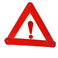 alarm sign - Reflective Warning Triangle Board Sign Safety Car Alarms Emergency