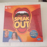 Wholesale P Hot speak out game best selling board game interesting party game
