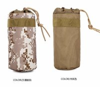 baseball water bottles - Waist Bag Water Bottle Bags Outdoor Waist Hung Kettle Cover Wrap Put Beverage Drinks Sports Pack