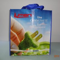 best breads - Off set full color logo lamination PP non woven bag best choice for promotion
