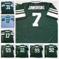 Wholesale Men Randall Cunningham R WHITE Reggie White Ron Jaworski Harold Carmichael M N Atlanta Throwback Football Jerseys