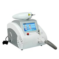 Wholesale Touch screen w Q switched nd yag laser beauty machine tattoo removal Scar Acne removal nm nm nm
