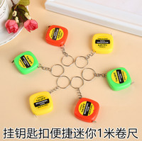 Wholesale Key is small adorn article mini steel tape m small portable scale small gift