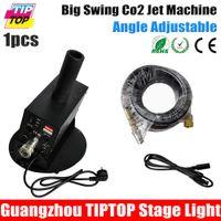 address plate - TIPTOP Big Swing Co2 Jet Machine TP T67 Round Mounting Base Plate W Jet m LCD Screen Digital DMX Address Setting V V