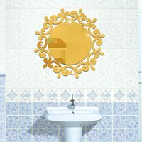 acrylic sports surfaces - High quality Creative Acrylic Mirror Surface Wall Sticker for Living Room Bedroom Washroom