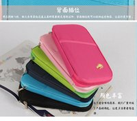 Wholesale Passport Credit ID Card Cash Holder Organizer Bags Wallet Functional Pockets Purse storage bags For Good Trip Travel Factory price