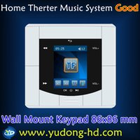 Wholesale New Home Therter Music System x86mm Wall Mount Keypad Home Cinema Stereo Amplifier Music Player
