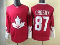 Ice Hockey team canada jerseys - 2016 Olympic Winter Games Hockey Jerseys Team Canada Sidney Crosby Hockey Wears Hot Sale Ice Hockey Shirts Hockey World Cup Jerseys