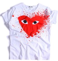 Wholesale New men good quality love plays couple tshirts short sleeve mens t shirt cotton Tee Shirt