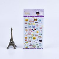 animal kingdom stickers - Pc Pack South Korea Creative Stationery Cute Animal Kingdom Perspective Puffy Sticker Diary Decorative Stickers