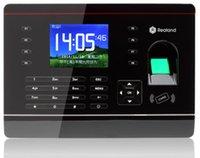 Wholesale Password Fingerprint Time Recorder Clock Attendance Employee Salary TCP IP USB P2P A C061