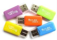 Wholesale mobile phone memory card reader TF card reader small multi purpose high speed USB SD Card Reader