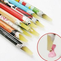 Wholesale PC Crayon Wax Dotting Pen Pencil Self adhesive Rhinestones Gems Drilling Picking Picker Tips Tools