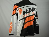 Wholesale Genuine motorcycle T shirt The latest KTM motocross off road T shirt T shirt Quick drying perspiration downhill Plus Size Quick Dry