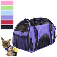 bicycle cat carrier - New Arrivel PROMOTION Fashion Dog Cat Pet Carrier Comfort Carrier Pet Dog Soft Travel Tote Retail PS5661