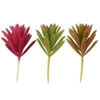 Wholesale 1pc Artificial Succulent Without Pot Plant Grass Garden Home Decor DIY Hot Selling