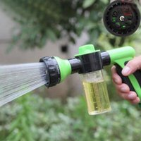 Wholesale Foam Water Gun Car Washer High Pressure Cleaning Home lawn irrigation garden watering adjustable patterns head