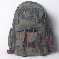 Wholesale DVS new package THRASHER FALLEN skateboard extreme sport HIPHOP large capacity backpack