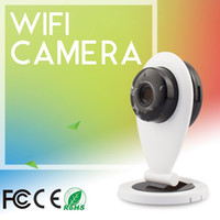Wholesale 720P Network Camera OV9720 Megapixel Sensor P2P Cloud IP Camera Built in Mic And Speaker Baby Monitors