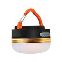 Wholesale Ultra Bright Camping Lantern Emergency Tent Lamp Rechargeable Battery Portable Outdoor Night Light Hiking LED Pure White