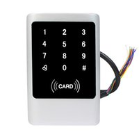 access alarms - IP68 Waterproof Explosion proof Anti thief Alarm Touch Keypad RFID EM Access Control For Home Security Card PIN Card PIN F1660D