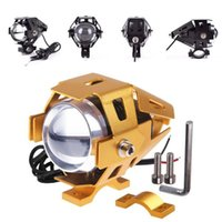 Wholesale Superbright U5 Motorcycle LED Headlights Off road Vehicles Outer Headlamp V V IP67 Aluminium Alloy Body Come With Mounting Bracket