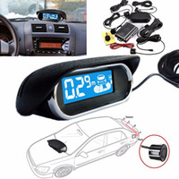 best parking system - New Arrival Best Price Durable LED Wireless Car Rear View Radar System Reversing Buzzer Kit Parking Sensor High Quality
