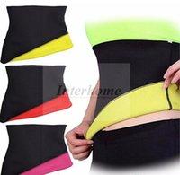 Wholesale Women Hot Shapers Sports Belt Neotex Neoprene Weight Loss Waist Cinchers Fitness Slimming Belts Shaper Belts Body Hugging Shapewear B527