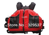 Wholesale boyancy aids PFD life jackets kayak jacket rafting sailing canoing ellow red and blue color