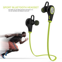 Wholesale Bluetooth Wireless Sports Headphones In ear Running Stereo Earbuds Headsets for iPhone and Android Smartphones
