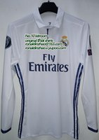 Wholesale Match Issue real madrid home jersey slim fit body size figure S M L XL ronaldo bale isco sergio ramos benzema