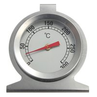 Wholesale Stainless Steel Oven Cooker Thermometer Temperature Gauge Tester Degree Home Tool Quick Safe High Quality