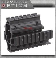 ak pistols - TAC Vector Optics Tactical Mini Draco AK Pistol piece RIS Compact Handguard Quad Picatinny Rail Mount Short Free Cover Gun Accessories