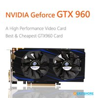 Wholesale Geforce GTX Video Card nVIDIA GTX960 Desktop Graphics Card for Computer Gaming