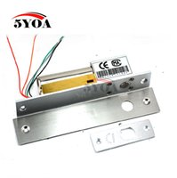 access safe - Electric Bolt Lock Lines Low Temperature DC V Stainless Steel Heavy duty Fail Safe Drop Door Access Control Security