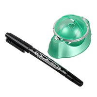 ball pen set - Indoor Outdoor Playing Golf Ball Liner Marker Template Drawing Alignment Tool Pen Training Golf Practice Set New