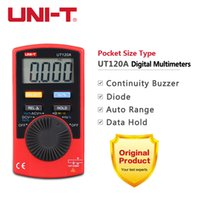 auto buzzer - UNI T Pocket Size Type Digital Multimeter UT120A Count Display Auto Range Continuity Buzzer Voltage Testing Tools Original