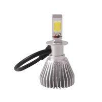 bulbs and lighting - Waterproof Plug and play Aluminum H3 COB LED Headlights Kit W LM Fog bulbs DRL K White Auto Fog Driving Lamp